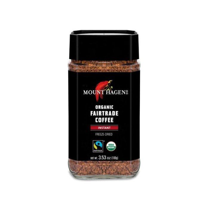 Mount hagen freeze dried regular jars